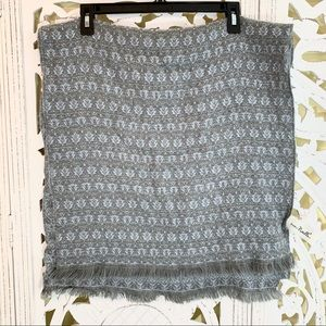 Simply Noelle Blue Gray Soft Scarf